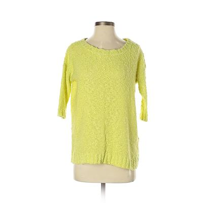 Reserved Pullover Sweater: Yello...