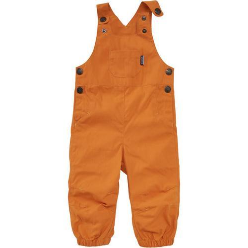 Latzhose, orange, Gr. 104/110