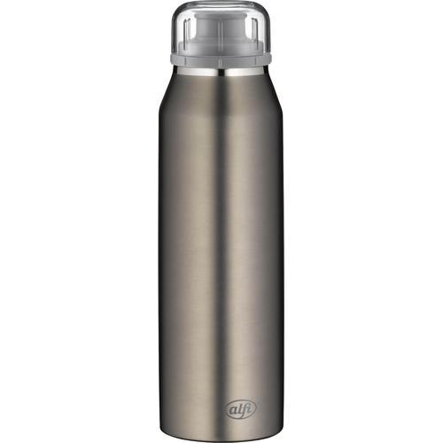 Alfi Thermoflasche Pure, 500 ml grau Campinggeschirr Camping Schlafen Outdoor