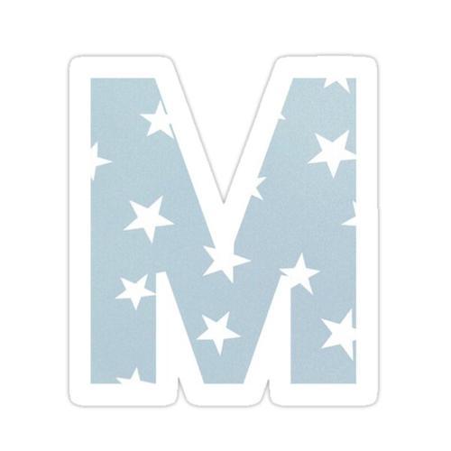 M sticker Sticker