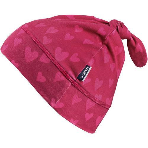 Jersey-Zipfelmütze, pink, Gr. 46/48