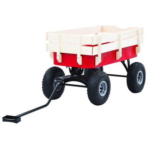 vidaXL Handwagen 150 kg Rot