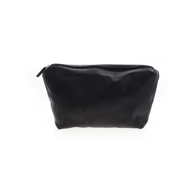 Street Level Clutch: Black Solid Bags