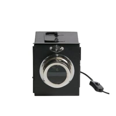 Be Pure Home - Black Metal Projector Table Lamp