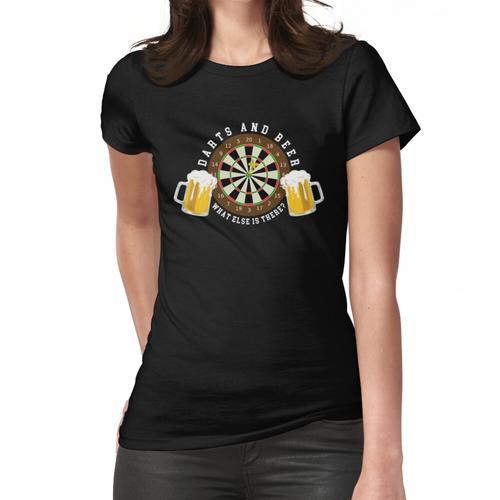 Darts and Beer - Dartscheibe Turnier Sport Spass Frauen T-Shirt