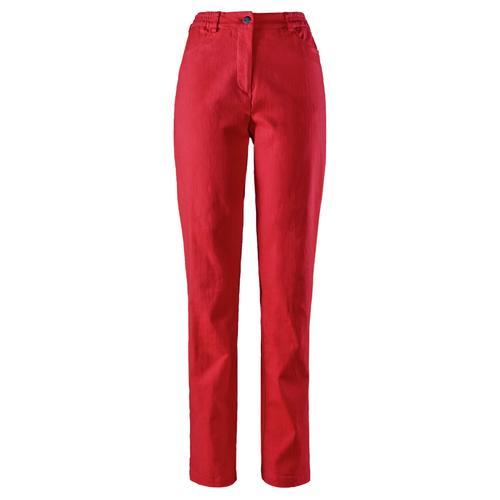 Avena Damen Powerstretch-Hose feminin Rot