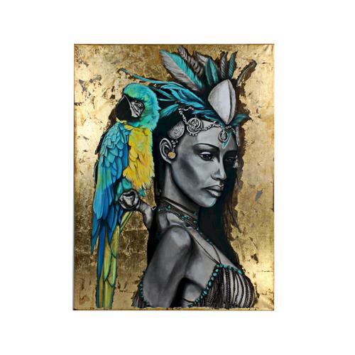 VOSS Design Acryl-Bild Amazone 120x160 cm