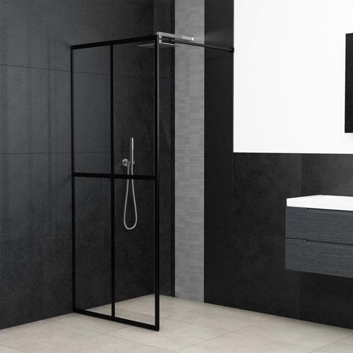 vidaXL Duschwand für Begehbare Dusche Sicherheitsglas 140×195 cm