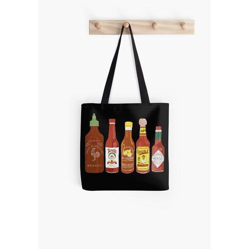 würzigere Sauce und mehr Kunst! Tasche