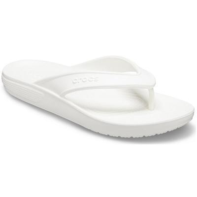 Crocs White Classic Ii Flip Shoes