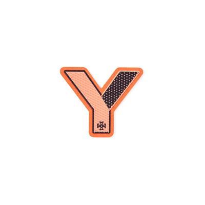 Tory Burch Initial Sticker, Y Orange / Tory Navy