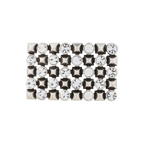 RETTUNGSRING by showroom 019° Gürtelschnalle, mit elegantem Muster silberfarben Damen Gürtelschnallen Accessoires Gürtelschnalle