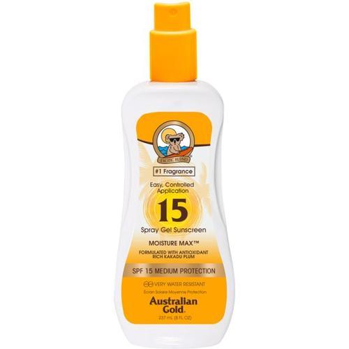 Australian Gold Sunscreen SPF 15 Spray Gel 237 ml