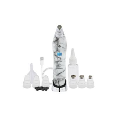 Michael Todd Beauty White Marble Sonic Refresher Patented Wet/Dry Sonic Microdermabrasion & Pore Extraction System with MicroMist Technology