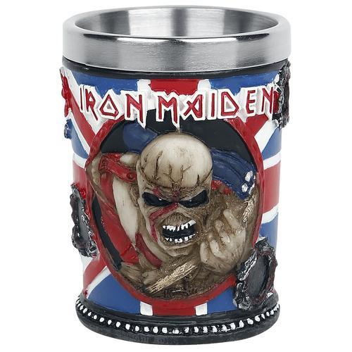 Iron Maiden Schnapsglas Schnapsglas - multicolor - Offizielles Merchandise