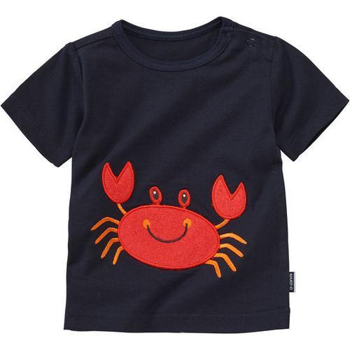 T-Shirt Applikation, blau, Gr. 56/62