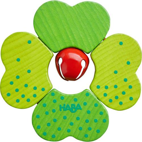 HABA Greifling Kleeblatt, grün