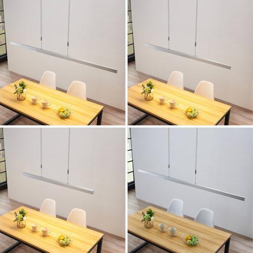 LED-Balkenpendelleuchte Merrit mit Touchdimmer