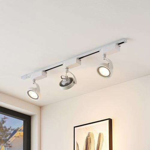 1-Phasen-LED-Strahler Rick in Weiß