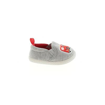 Sneakers: Gray Solid Shoes - Size 2