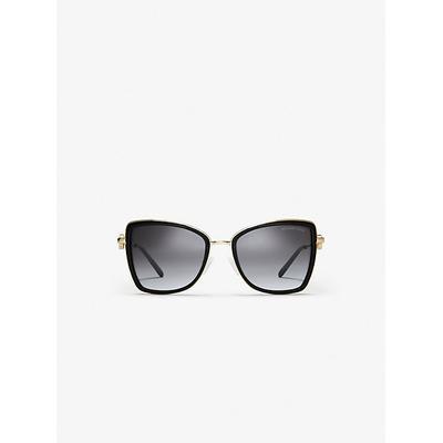Michael Kors Corsica Sunglasses Gold One Size