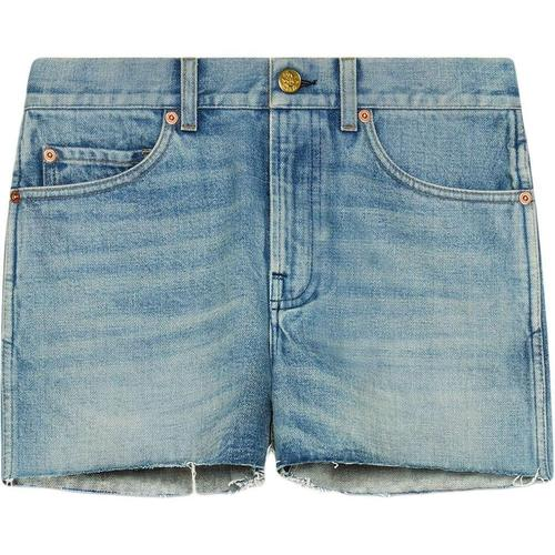 Gucci Jeansshorts mit Patches