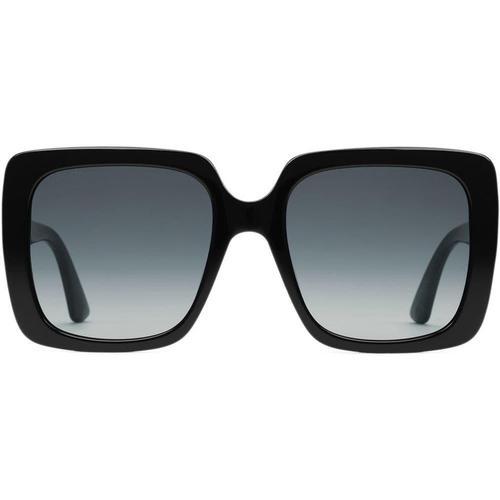 Gucci Sonnenbrille mit rechteckigem Rahmen aus Acetat