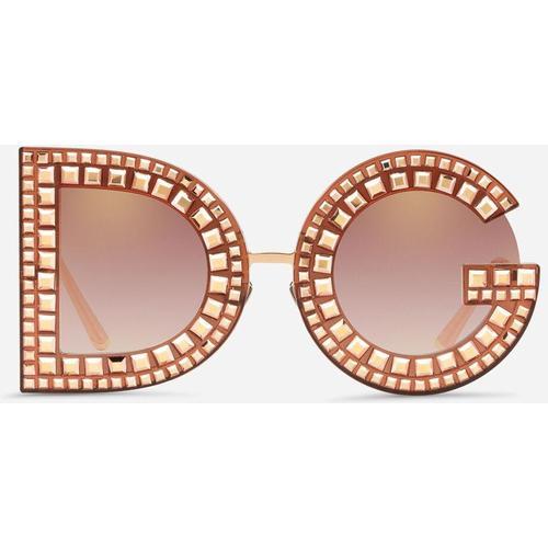 Dolce & Gabbana Sonnebrille Dg Mit Kristallen