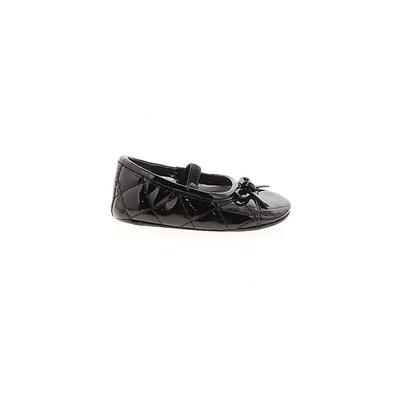Koala Baby Flats: Black Solid Shoes - Size 2