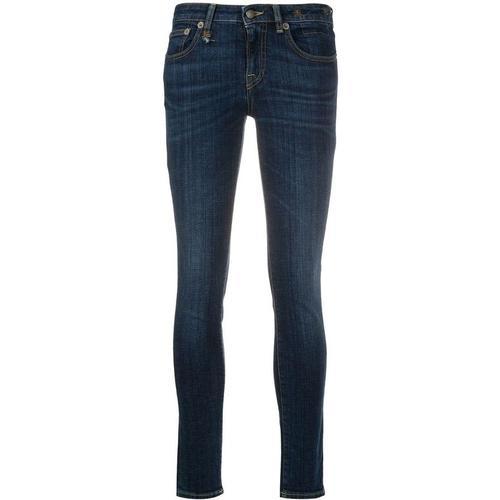 R13 Halbhohe Skinny-Jeans