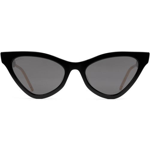 Gucci Sonnenbrille in Katzenaugenform aus Azetat