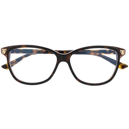 Cartier Brille in Schildpatt-Optik