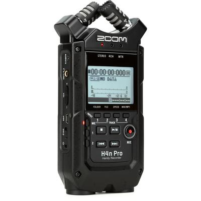 Zoom H4n Pro Handy Recorder - Black