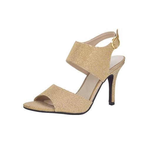 Sandale WENZ Goldfarben