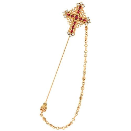 Dolce & Gabbana Anstecknadel mit Kreuze