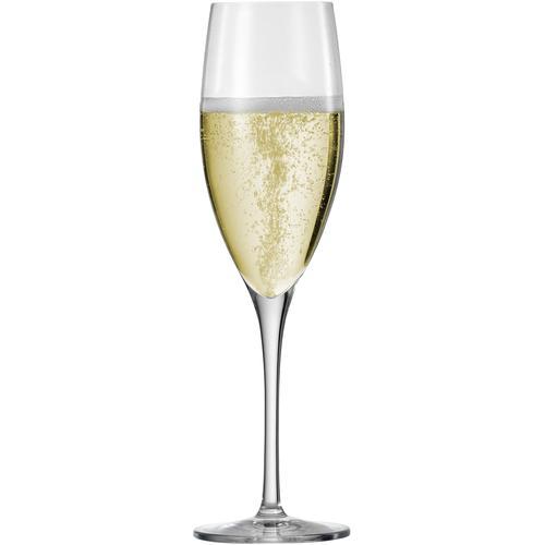 Eisch Champagnerglas Superior SensisPlus, (Set, 4 tlg.), bleifreies Kristallglas, 278 ml farblos Kristallgläser Gläser Glaswaren Haushaltswaren