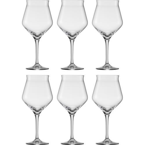 Eisch Bierglas Craft Beer Kelch, (Set, 6 tlg.), bleifreies Kristallglas, 435 ml farblos Kristallgläser Gläser Glaswaren Haushaltswaren
