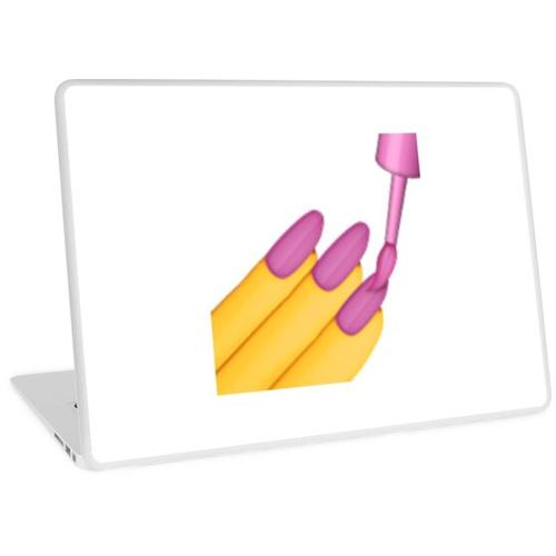 Nagellack Emoji Laptop Skin