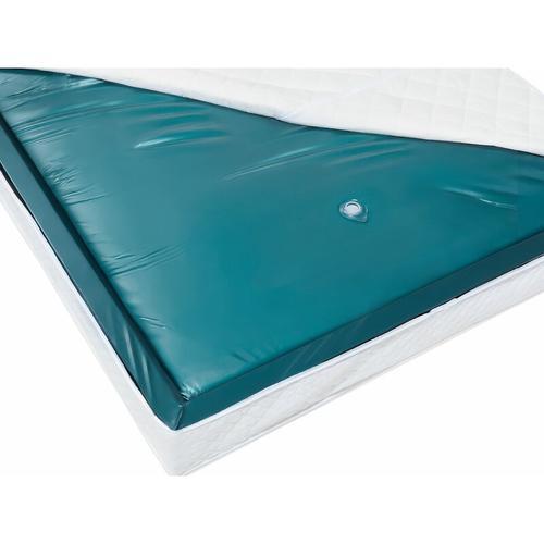 Wasserbettmatratze Blau 180 x 200 cm Mono Stark beruhigt Soft Side