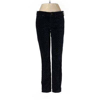 J.Crew Velour Pants - Low Rise: Black Activewear - Size 26