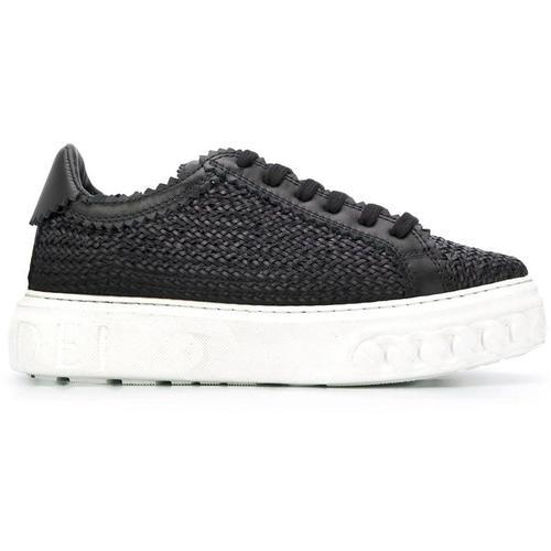 Casadei Geflochtene Sneakers