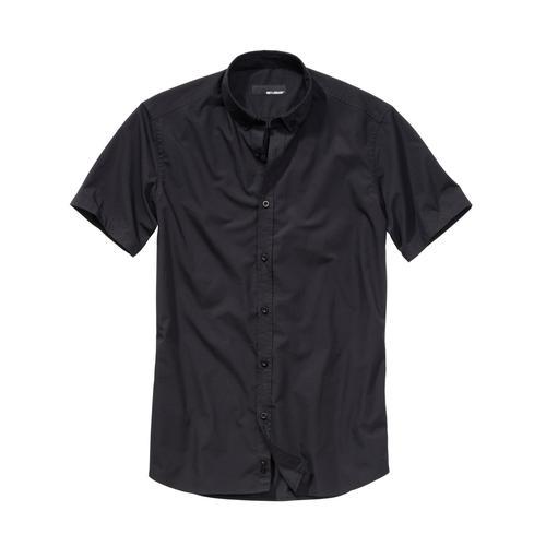 Mey & Edlich Herren Bizeps-Hemd schwarz 38, 39, 40, 41, 42, 43, 44