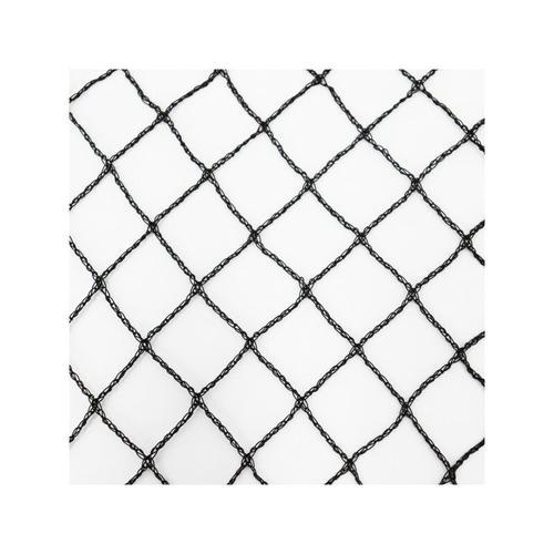 Teichnetz 26m x 10m schwarz Fischteichnetz Laubnetz Netz Vogelschutznetz robust