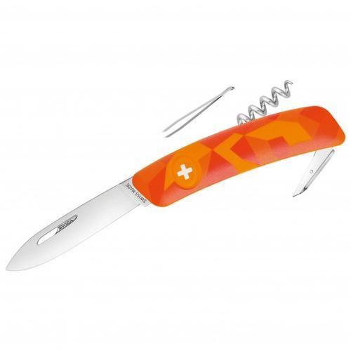 Swiza - Schweizer Messer C01 - Messer Gr 7,5 cm orange