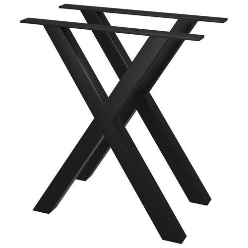 vidaXL Esstischbeine 2 Stk. X-Gestell 60×72 cm