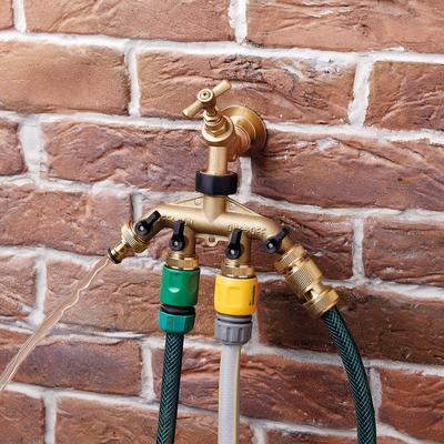4-Way Brass Tap Adapter by Coope...