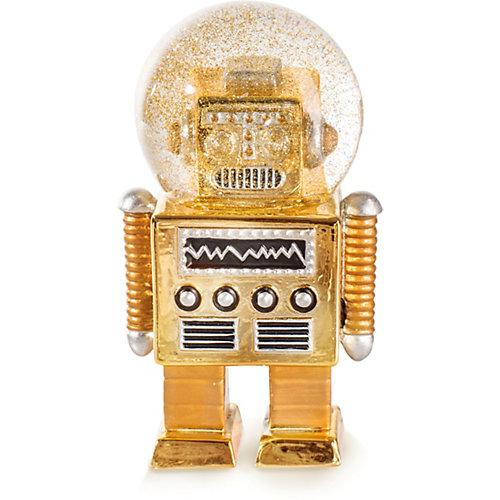 """""""""""Dekofigur """"""""The Robot"""""""" H13cm"""" gold"""""""