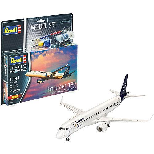 Model Set Embraer 190 Lufthansa
