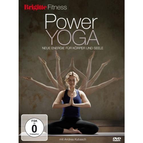 DVD Brigitte - Power Yoga mit Andrea Kubasch Hörbuch