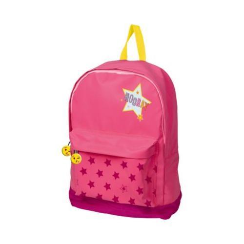 Glühwürmchen: Großer Rucksack HOORAY (pink)